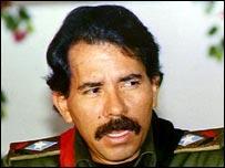 Daniel Ortega, ex presidente de Nicaragua