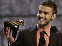 Justin Timberlake is a two-time Grammy award winner