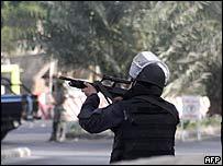 Saudi security officer during Khobar standoff