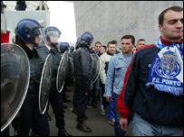 Portuguese riot police