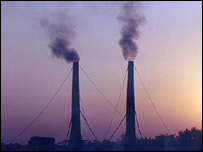 Industrial chimneys (BBC)