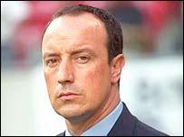 New Liverpool boss Rafael Benitez