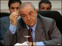 Iraqi Prime Minister-designate Iyad Allawi