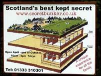 Secret bunker sign