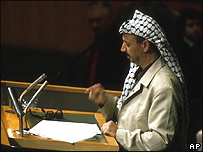 Yasser Arafat, 1972