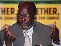 SPLM leader John Garang