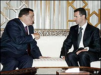 Mubarak and Assad