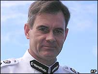 Andrew Hughes the Commissioner of the Fijian Police force