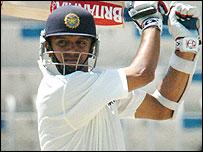 India's Rahul Dravid