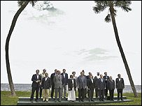 G8 leaders at Sea Island