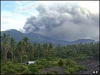 Mount Awu eruption, 10 June 2004