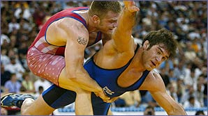 Wrestling is probably as old as the human race
