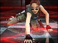 Artwork of Lara Croft