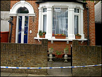 House where body was found