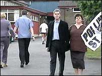 NI polling station