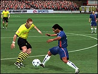 Screenshot of Fifa Euro 2005