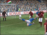 Screenshot from PES