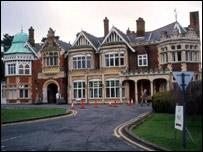 Bletchley Park stately home