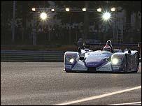 Jonny Herbert's Audi at Le Mans