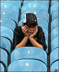 Dejected fan