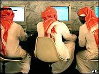 Saudi net users, AP