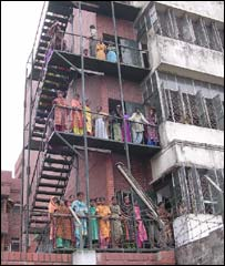 The Azim and Son garment factory in Dhaka