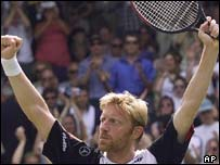 Boris Becker, AP