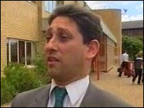 Cardiff's Liberal Democrat group leader Rodney Berman