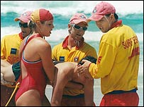Life guards in Australia
