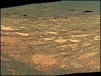 Endurance Crater, Nasa