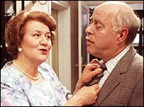 Patricia Routledge and Clive Swift in Keeping Up Appearances