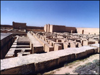 The site of the ancient city of Babylon