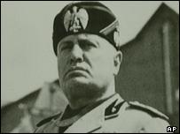 Benito Mussolini in 1942