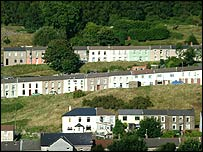 Voters of the Rhondda turned their backs on Plaid Cymru( picture freefot.com)