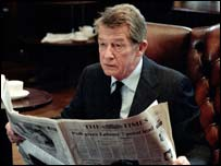 John Hurt as Alan Clark