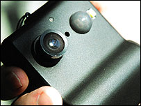 Microsoft's SenseCam prototype (Image: MSRC)
