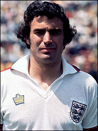 Trevor Brooking in his England heyday