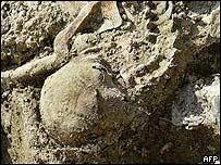 Srebrenica massacre grave