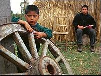 Población mapuche. Foto: Dimas Portes Alemany