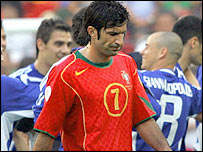 Portugal's Luis Figo