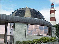 Plymouth Dome and Smeaton's Tower