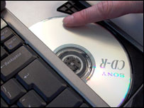 Computer and CD-rom