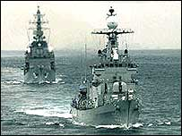 South Korean warships (archive photo)