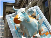 Manchester Art Gallery's Cow Parade Cow