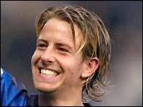 Gillingham midfielder Danny Spiller
