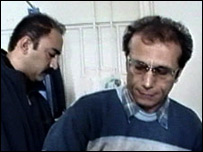 Dr Arash Alaei (left) and Mohammad (right)