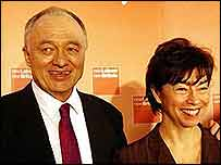 Ken Livingstone and Nicky Gavron