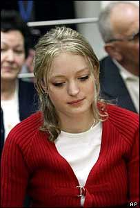 Sabine Dardenne in court in Arlon