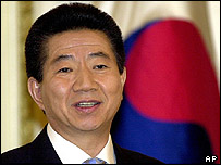 South Korea's President Roh Moo-hyun (archive picture)