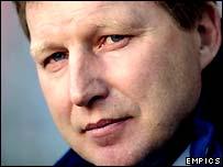 Latvia coach Aleksandrs Starkovs